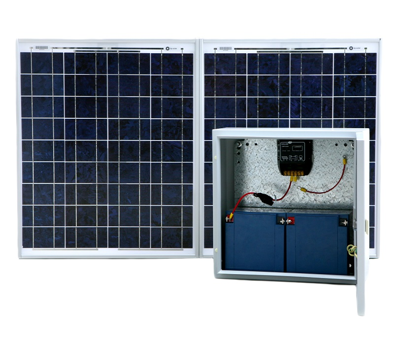 Faac 24v Solar gate kit
